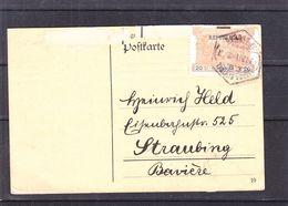 Portugal - Carte Postale De 1911 - Oblit Lisboa Central - Exp Vers Staubing - - Lettres & Documents