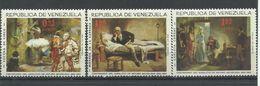 VENEZUELA  YVERT  AEREO   885/87    MNH  ** - Venezuela