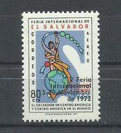 SALVADOR   YVERT  AEREO   290    MNH  ** - El Salvador