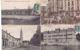 LOT SYMPA IDEALE REVENDEUR  1000 CP Pas De Paris Militaire Etrangere ,vue Paysage Chateau Architecture - 500 Postales Min.