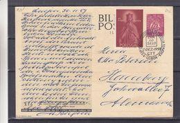 Portugal - Carte Postale De 1959 - Entier Postal - Oblit Lisboa - Exp Vers Hamburg - - 1910-... Republic