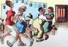 Vieilles Personnes Dansant Pour Fêter La Fin Du Confinement - Old People Dancing To Celebrate The End Of Containment - Humour