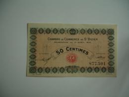 Saint Dizier Chambre De Commerce Billet Necessite  0,50 - Chambre De Commerce