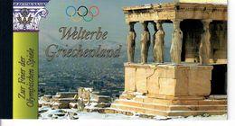 ONU - NAZIONI UNITE  VIENNA  2004 -PATRIMONIO MONDIALE GRECIA - LIBRETTO  - MNH/** - ONU