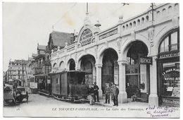 62 LE TOUQUET PARIS PLAGE La Gare Des Tramways - Le Touquet