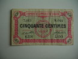 Tarare Chambre De Commerce Billet Necessite  50 C - Chamber Of Commerce