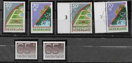 Nederland - 1986 - Yv.1262/1263 ( **  0 ) 1264 / 1264a - ( ** ) - Periodo 1980 - ... (Beatrix)