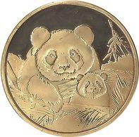 2020 - SAINT-AIGNAN-SUR-CHER - ZooParc De Beauval (la Maman Panda Et Sont Petit) MEMODAILLES - Touristiques