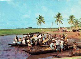GANVIE : Marché Sur L'eau - Dahomey