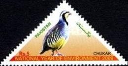 MNH STAMPS Pakistan - Protected Wild Animals - Birds - 2001 - Pakistan