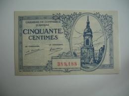 Amiens  Chambre De Commerce Billet Necessite  1 Fr - Chambre De Commerce