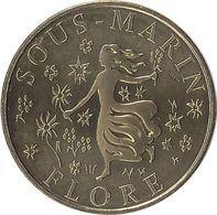2020 MDP233 - LORIENT - Sous Marin Flore 3 (le Déesse) / MONNAIE DE PARIS - Monnaie De Paris