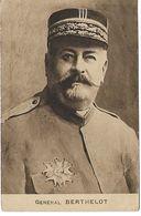 L16C002 - Portrait Du Général Berthelot - Guerre De 1914-1918 - Cliché Platinogravure - Characters