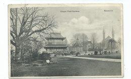 Norwich Postcard Norfolk Chapel Field Gdns  Birkenhead No 8 Squared Circle Cancel 1905 - Norwich