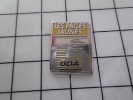 415a Pin's Pins / Rare & Belle Qualité !!! THEME : FRANCE TELECOM / PAGES JAUNES ODA Par 4PS - France Telecom