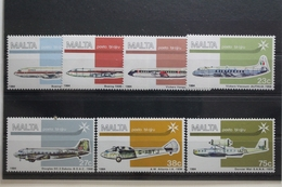 Malta 697-703 ** Postfrisch #UG950 - Vliegtuigen