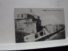 MILAZZO  --- MESSINA  -- ANTICO DUOMO , PARTE POSTERIORE - Messina