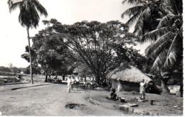 GUINEE  CONAKRY  CASES INDIGENES SUR LA CORNICHE - Guinée Française