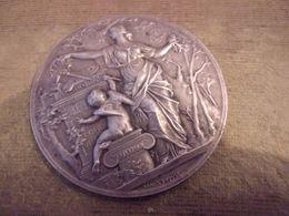 1931 Médaille Bronze ART DECO Société Artistes Français Salon Peinture Signée DUPUIS 64 G - Professionnels / De Société