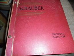LIQUIDATION..............ALBUM DE COLLECTION DE TIMBRES DU MONDE ENTIER   ALLEMAND IMPRIME EN 1922  1011 PAGES - Documentos Antiguos