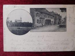 FRANCE / ANOULD - VOSGES / 1899 BAHNPOST  (AB31) - Anould