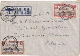 EGYPTE 1937 PLI AERIEN DE PORT SAÏD - Egypt