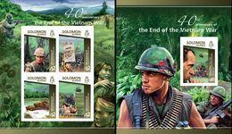 Salomon 2015, 40th Viet Nam War, 4val In BF+BF IMPERFORATED - Militaria