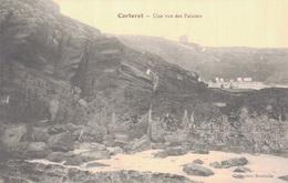 50 - CARTERET / UNE VUE DES FALAISES - Carteret