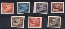 COSTA RICA TELEGRAPH SHIPS AMERICAN BANKNOTE PROOFS 1910 - Costa Rica