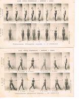 2 CARTES POSTALES - GYMNASTIQUE - ARRAS 1904 - - Gimnasia