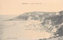 50 - CARTERET / LA PLAGE A MAREE BASSE - Carteret