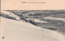 50 - CARTERET / MER DE SABLE ET ROUTE DE HATTAINVILLE - Carteret