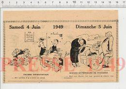 Humour Jeu Joueurs De Cartes Fakir Clou Maladie Vache Beurre Vacances Campagne Cochon Omelette Transport Poussé 229ZN - Vieux Papiers