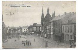 CPA PK  GRAMMONT  GRAND'PLACE   GERAARDSBERGEN  GROOTE MARKT - Belgien