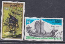 Bénin PA N° 332 / 33 O Bateaux Anciens, Les 2 Valeurs  Oblitérations Légères, TB - Bénin – Dahomey (1960-...)