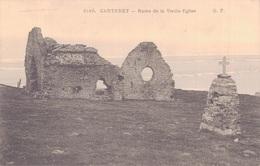 50 - CARTERET / RUINE DE LA VIEILLE EGLISE - Carteret