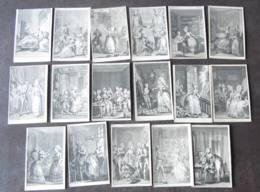 LOT De 17 LITHOGRAPHIES - Illustrateurs - Lire Descriptif - 1 Scan - Before 1900