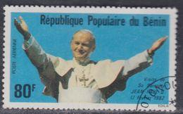 Bénin PA  N° 301 O Visite Du Pape Jean Paul II  Oblitération Légère, TB - Bénin – Dahomey (1960-...)