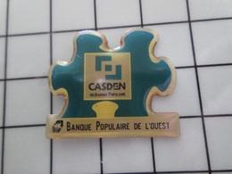 415a Pin's Pins / Rare & Belle Qualité !!! THEME : BANQUES / BPO CASDEN BANQUE POPULAIRE DE L'OUEST PUZZLE - Banche