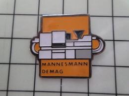 415a Pin's Pins / Rare & Belle Qualité !!! THEME : MARQUES / MANNESMANN DEMAG Les Camions D'Adolf Par PARKSON - Banche