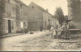 Fleurey Sur Ouche Place De La Fontaine - France
