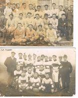 2 CARTES POSTALES - EQUIPES DE RUGBY - VENDOME - REGION DE TOULOUSE - - Rugby