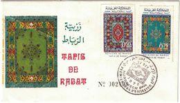 Maroc - Marrakech  - Premier Jour 27 Octobre 1972 - Maroc (1956-...)