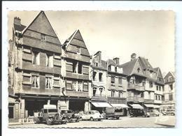 Archive REMA - N°1757 (vers 1960) LANNION - Nombreux Commerces Et Automobiles - Place Du Centre - Vente Directe X - Lannion
