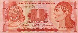 HONDURAS 1 LEMPIRA 2006 P-84e   CIRC - Honduras