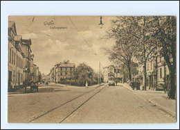 XX10234/ Gießen Ludwigsplatz Straßenbahn AK 1918 - Deutschland
