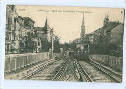 XX10232/ Berlin Tunnel Zum Hochbahnhof Danziger Straße AK 1913 - Germany