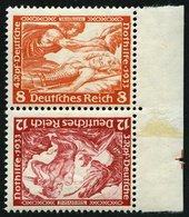 ZUSAMMENDRUCKE SK 20 **, 1933, Wagner Kehrdruck 8 + 12, Pracht, Mi. 120.- - Zusammendrucke