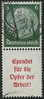 ZUSAMMENDRUCKE S 125 O, 1934, Hindenburg 6 + A5, Feinst, Mi. 80.- - Zusammendrucke