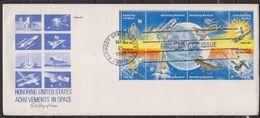 UNITED STATES USA - 1981 ACHIEVEMENTS IN SPACE - FDC - FDC & Gedenkmarken